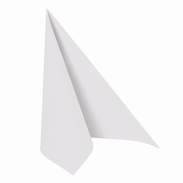 Servietten Weiß 40x40 3LG 1/4 Falz