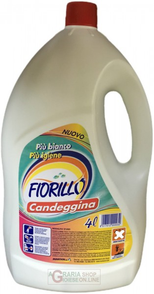 Candeggina Fiorillo 4L (Ammoniak Bleichmittel)