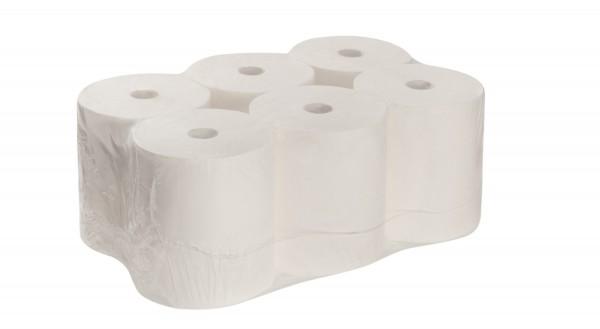 Rollenhandtuchpapier - 2-lagig, hochweiß